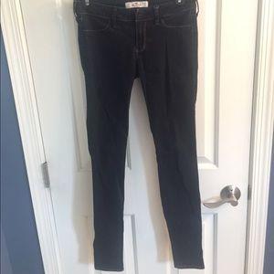 Hollister Dark Denim 3L skinny jeans